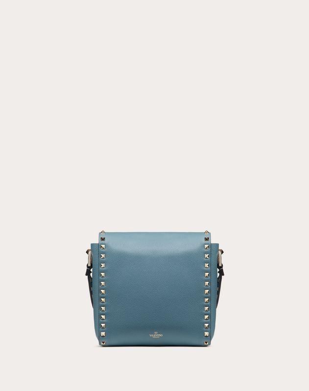 Вертикальная сумка Rockstud из зернистой телячьей кожи