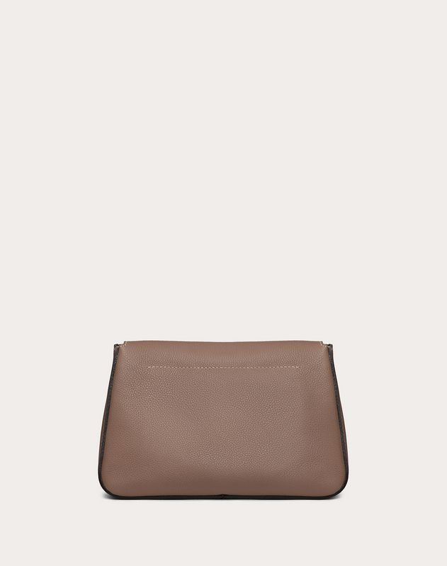 Small VRING Grainy Calfskin Crossbody Bag