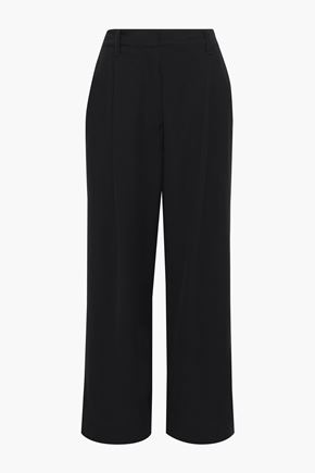 3.1 PHILLIP LIM Cropped pleated crepe wide-leg pants