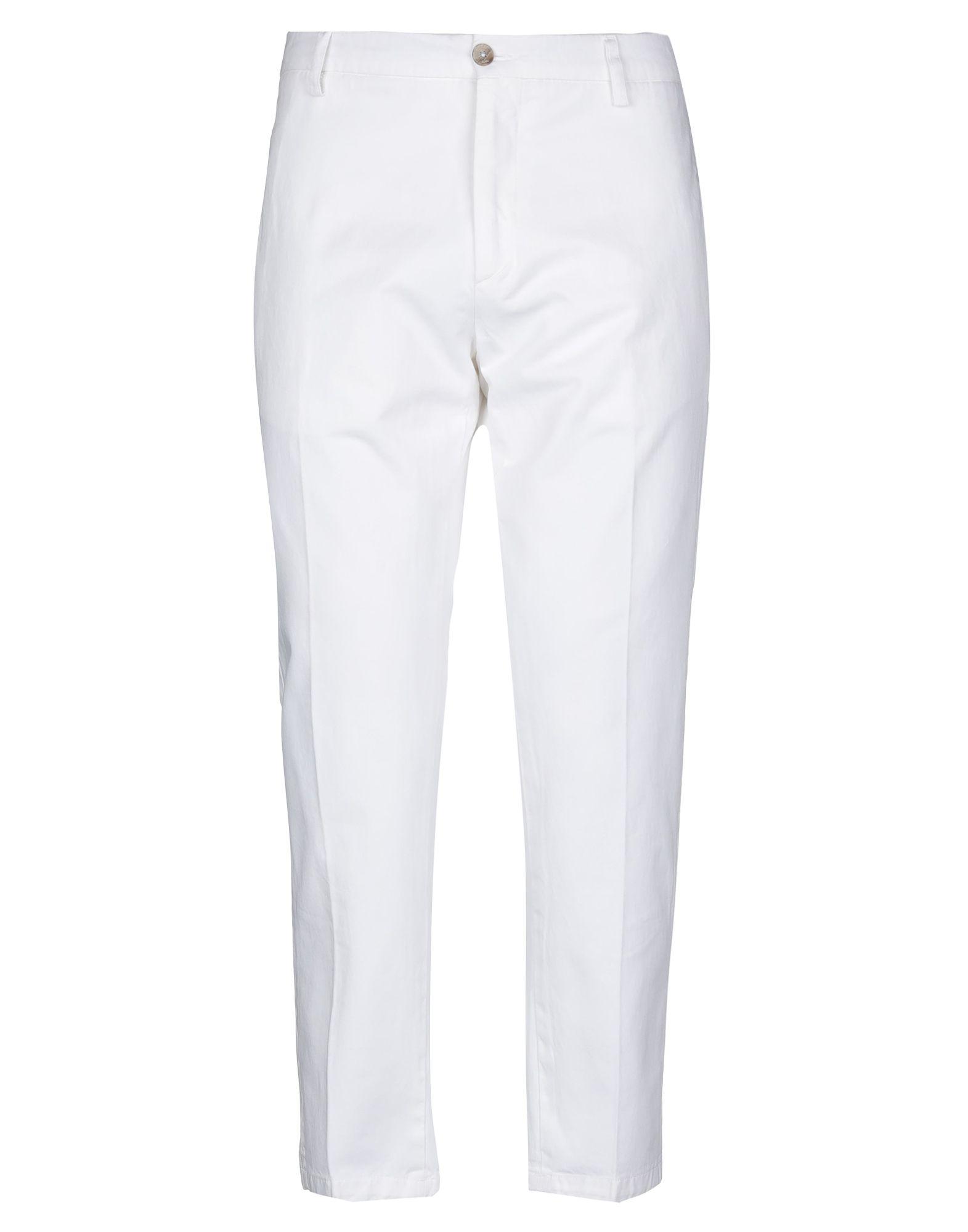 《セール開催中》BE ABLE メンズ パンツ ホワイト 30 コットン 100%