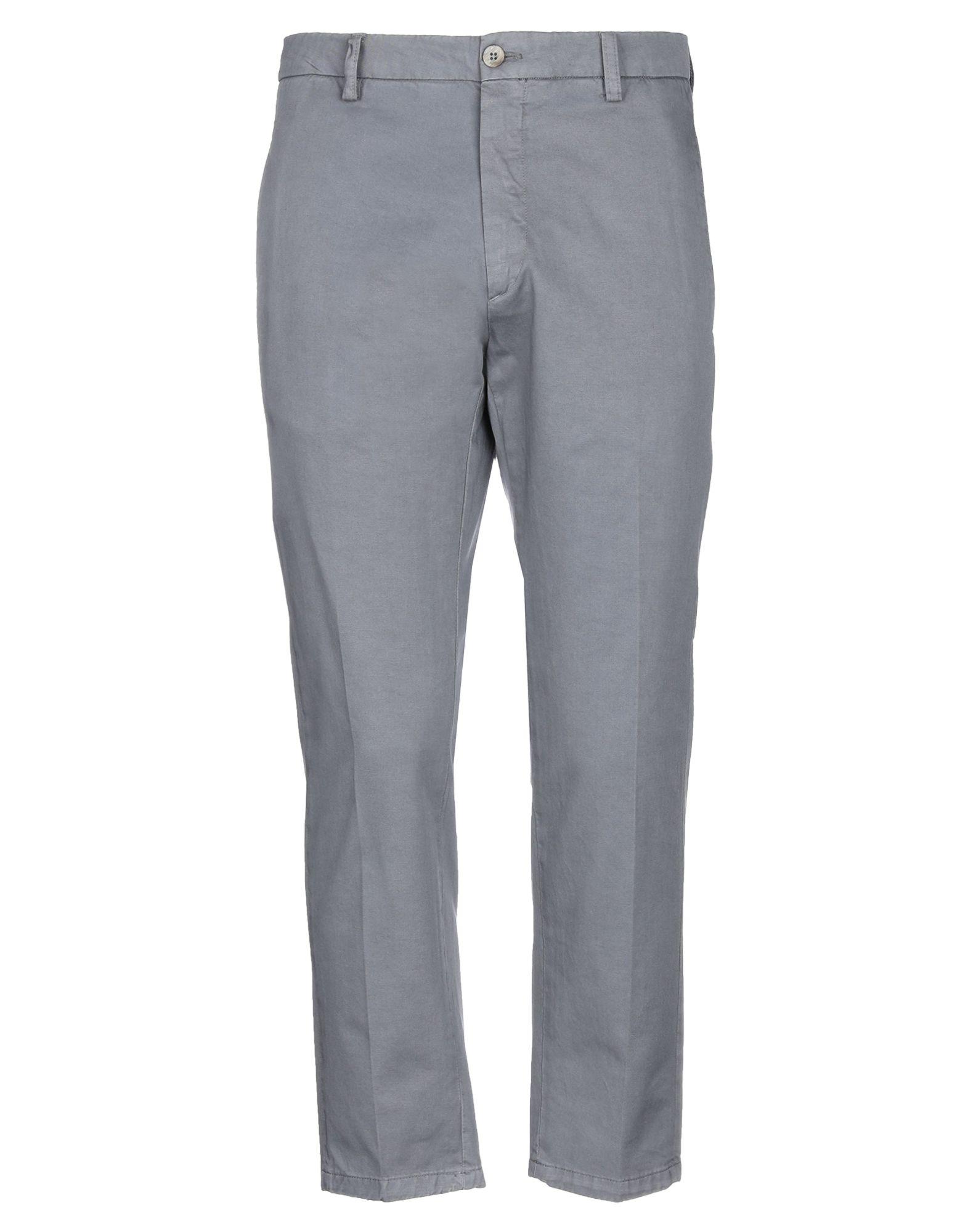 《セール開催中》BE ABLE メンズ パンツ グレー 30 コットン 100%