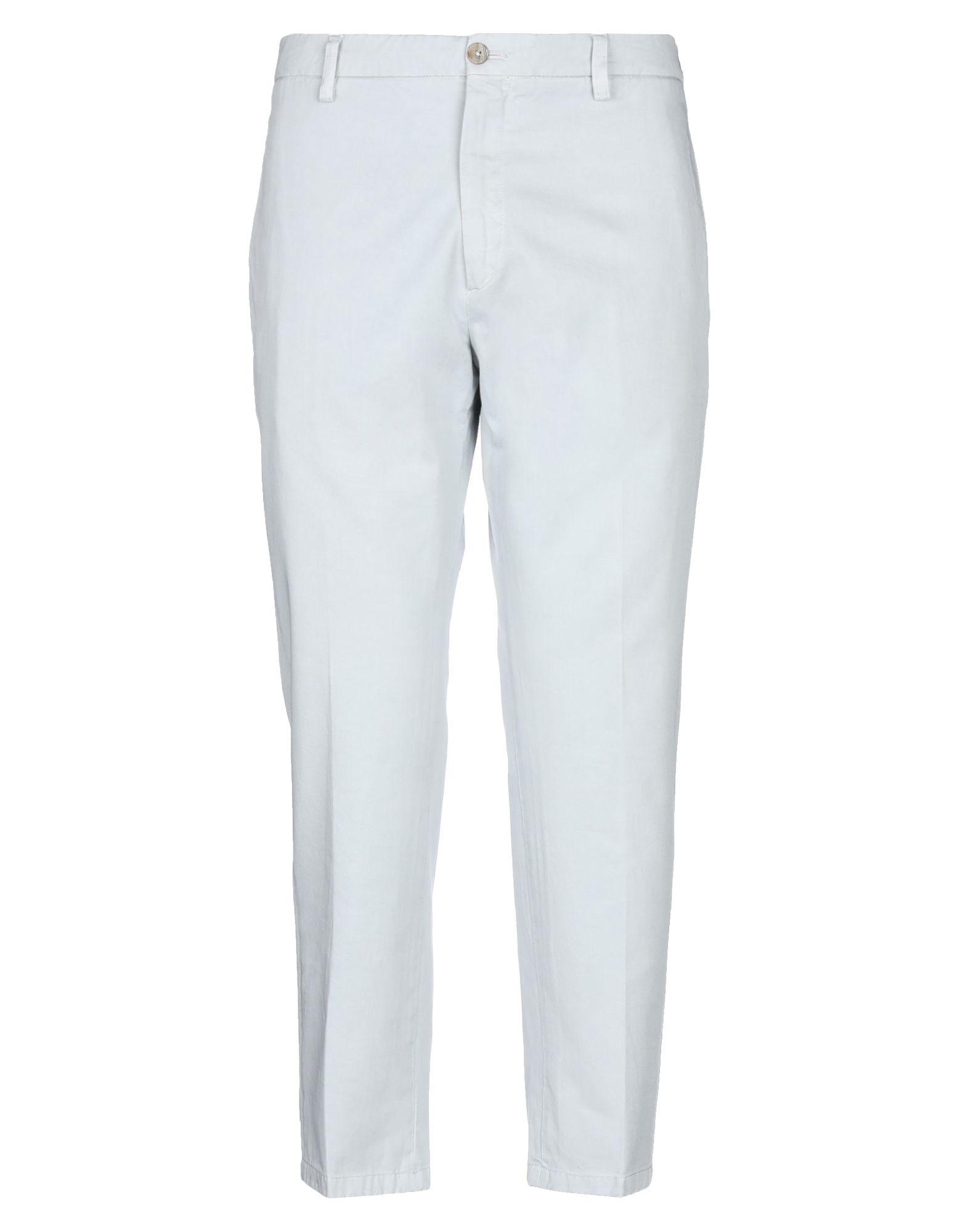 《セール開催中》BE ABLE メンズ パンツ ライトグレー 35 コットン 100%