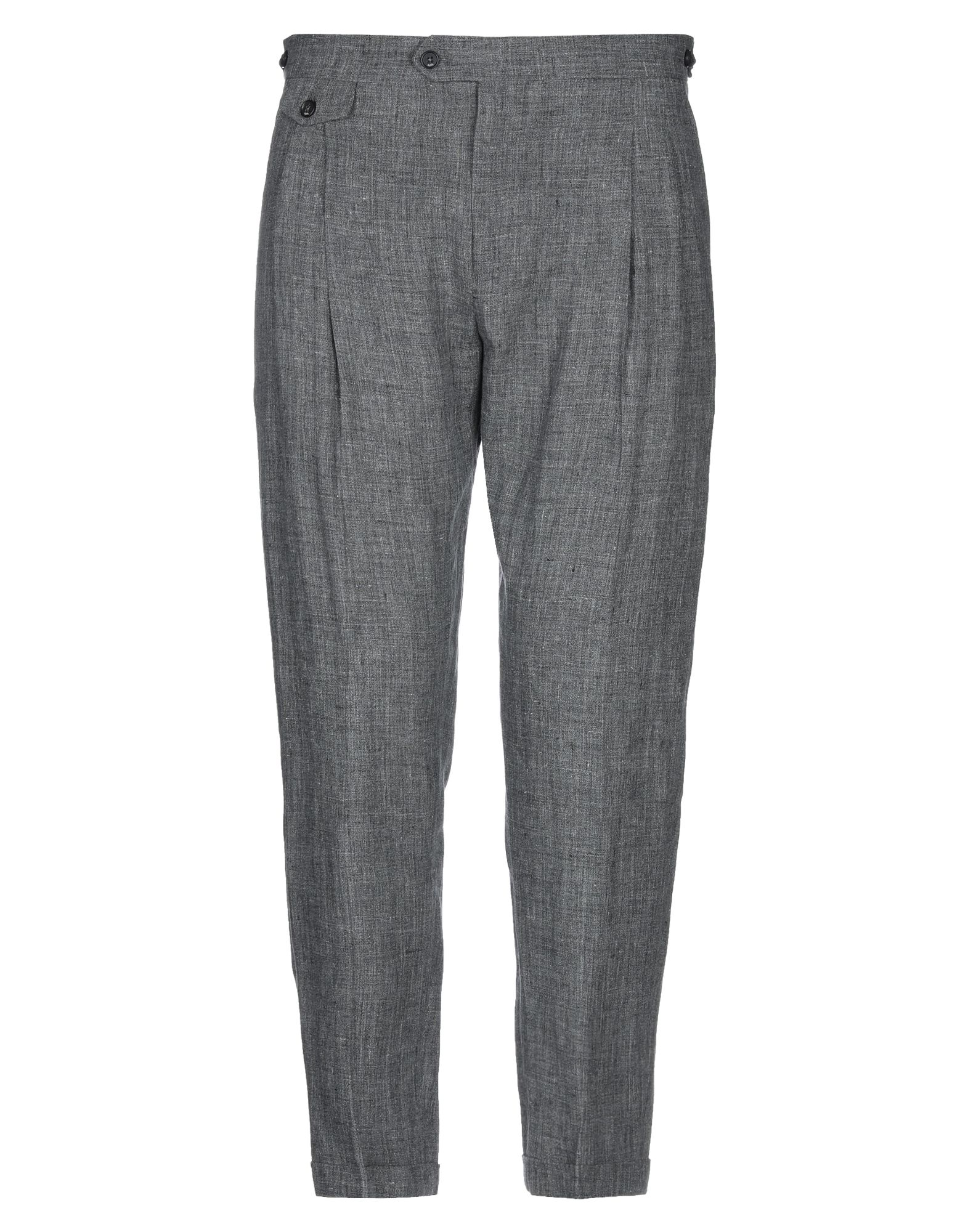 《セール開催中》BE ABLE メンズ パンツ グレー 35 麻 100%