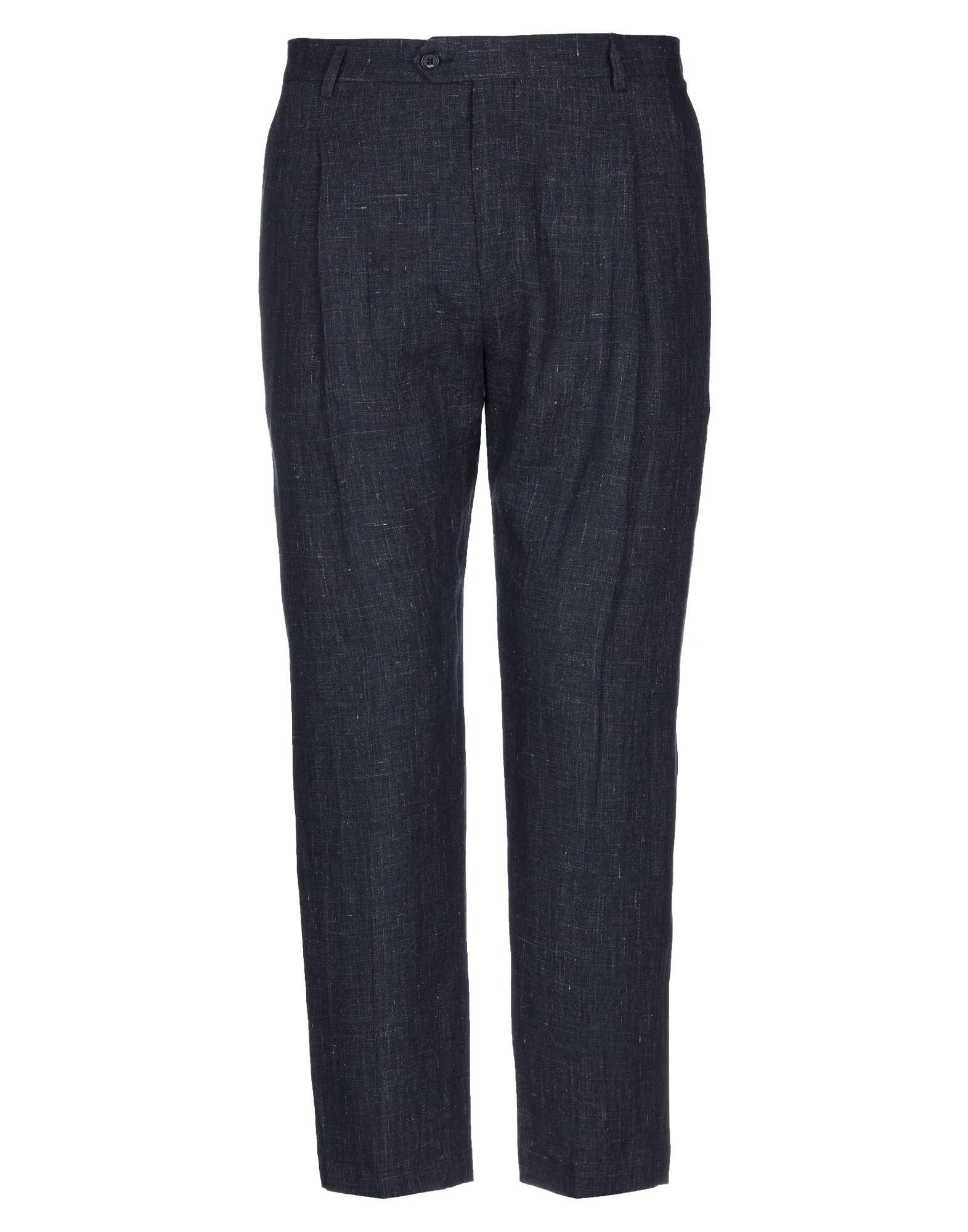《セール開催中》BE ABLE メンズ パンツ ダークブルー 30 麻 100%