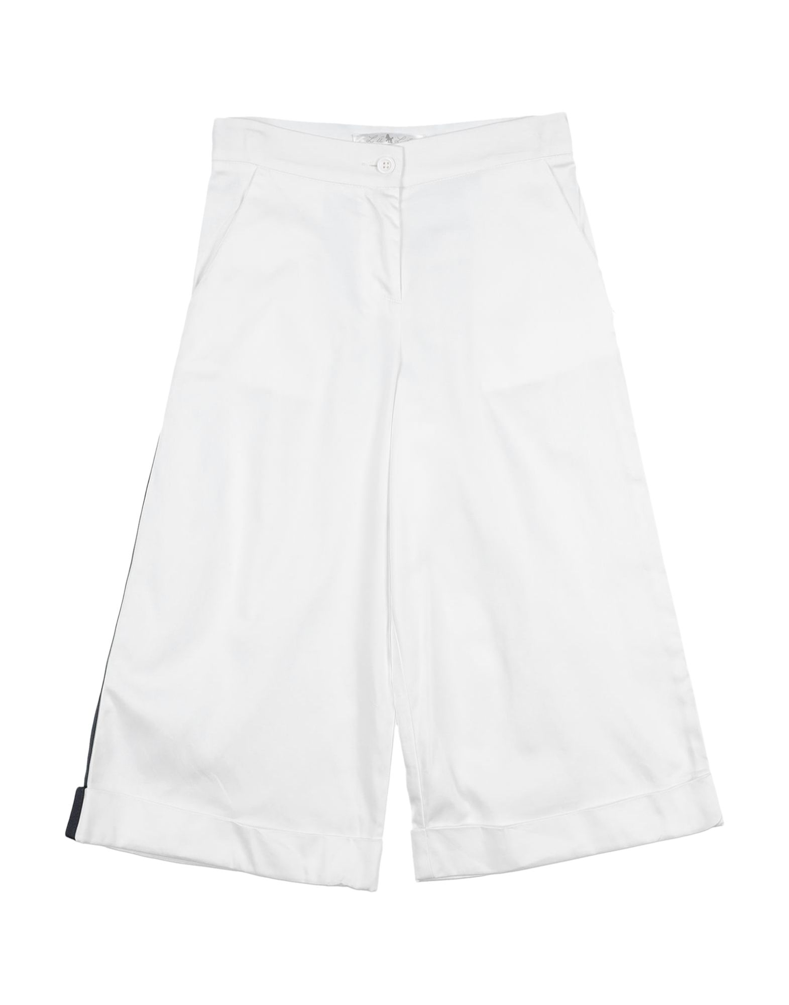 L:ú L:ú By Miss Grant Kids' Casual Pants In White