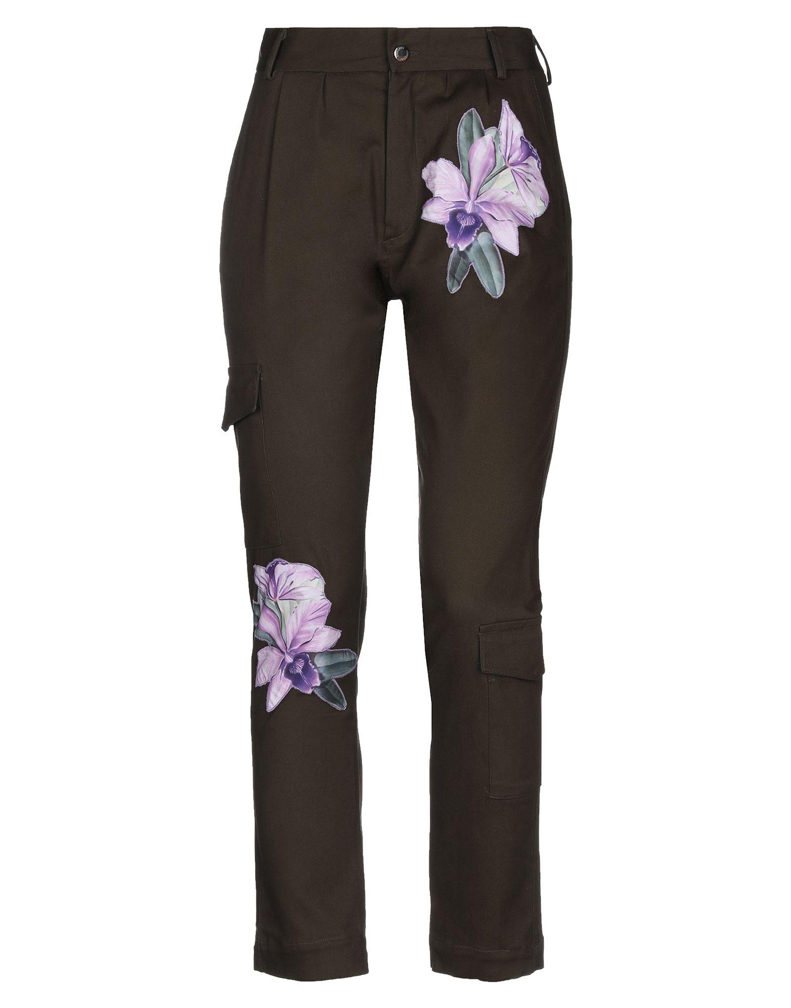 DUEMINUTI Повседневные брюки dueminuti брюки капри