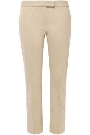 JOSEPH Finley cropped stretch-gabardine slim-leg pants