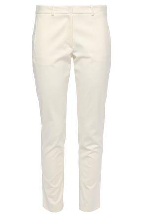 JOSEPH New Eliston cotton-blend slim-leg pants