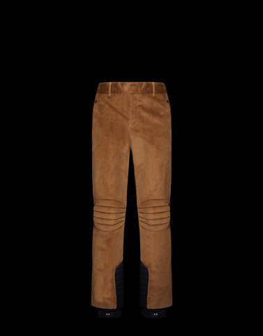 CASUAL PANTS Camel 3 Moncler Grenoble Man