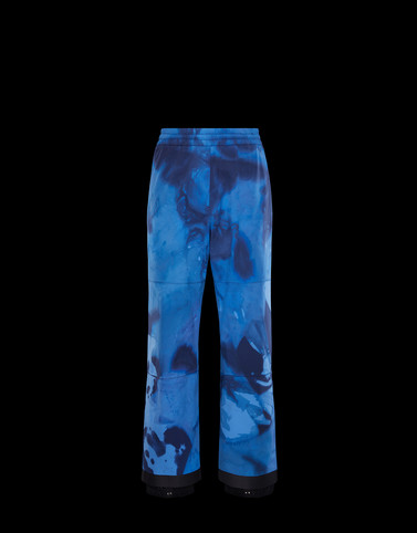 CASUAL PANTS Blue 3 Moncler Grenoble Man