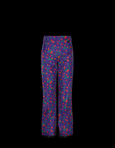 CASUAL PANTS Multicoloured 3 Moncler Grenoble Woman