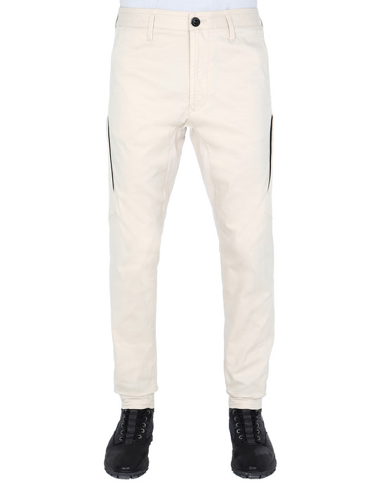 STONE ISLAND 30714 PANTS - 5 POCKETS Man Beige