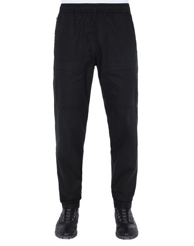 STONE ISLAND 30503 Trousers Man Black EUR 243