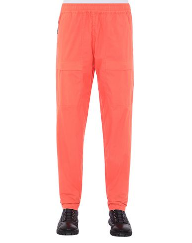 STONE ISLAND 30503 Pants Man Lobster Red USD 204