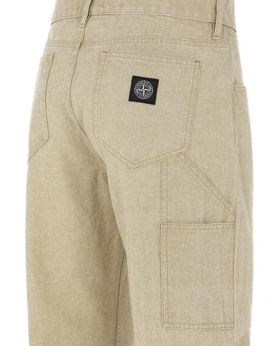 13404984bh - PANTS - 5 POCKETS STONE ISLAND