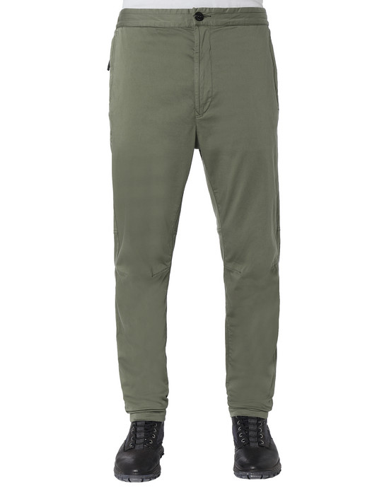 STONE ISLAND 30909 Trousers Man Olive Green