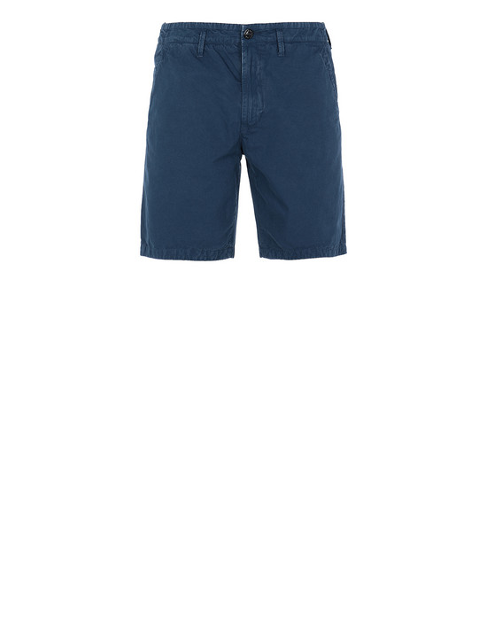 STONE ISLAND L09WA T.CO+OLD Bermuda shorts Man Marine Blue