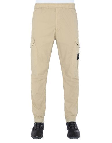 STONE ISLAND 31403 Pants Man Dark Beige USD 343
