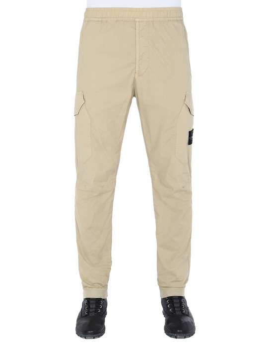 STONE ISLAND 31403 Trousers Man Dark Beige