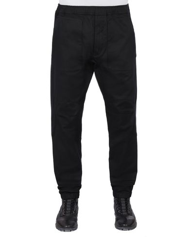STONE ISLAND 30405 Trousers Man Black EUR 114