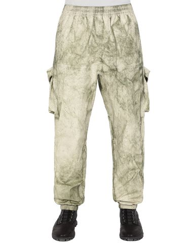STONE ISLAND 30628 MEMBRANA + OXFORD 3L WITH DUST COLOUR FINISH Trousers Man Beige EUR 499