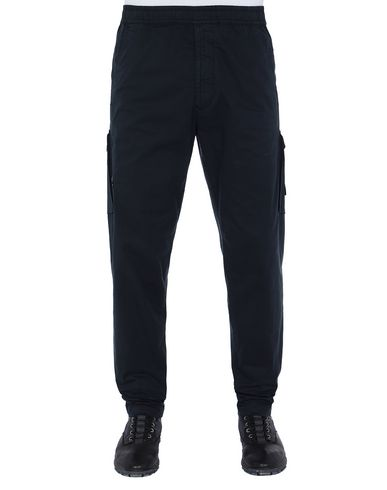 STONE ISLAND 310F2 GHOST PIECE  Pants Man Blue USD 283