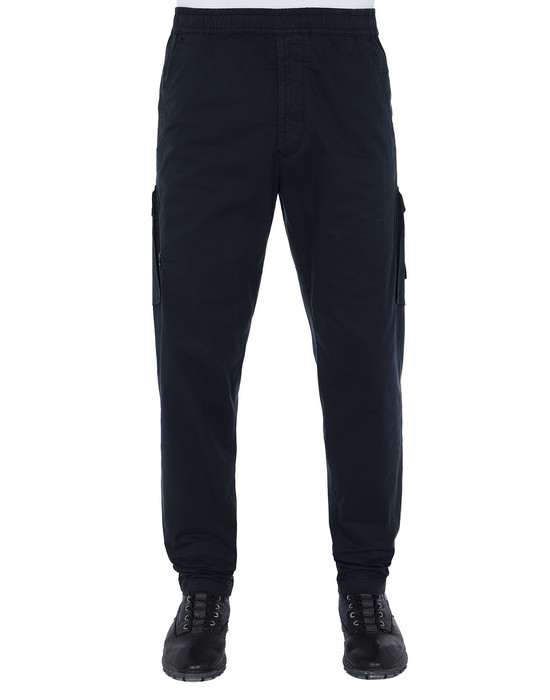 STONE ISLAND 310F2 GHOST PIECE  Trousers Man Blue