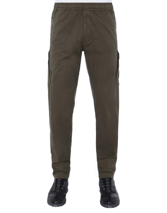 STONE ISLAND 310F2 GHOST PIECE  Pants Man Military Green