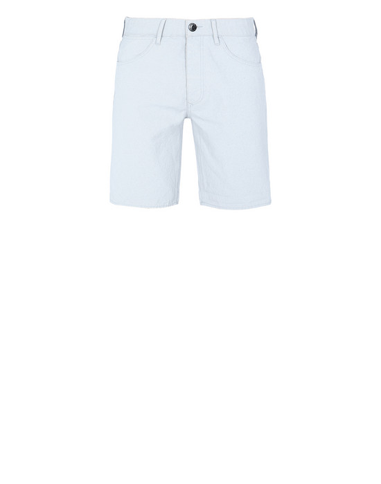 Bermuda shorts Man L11J1 PANAMA PLACCATO Front STONE ISLAND