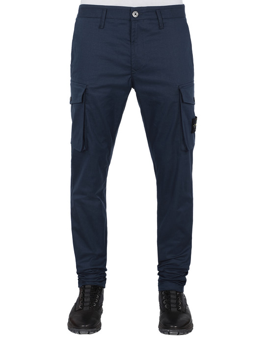 STONE ISLAND 31814 Trousers Man Marine Blue