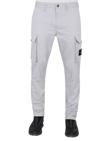 STONE ISLAND 31814 Pants Man Dust Gray EUR 149