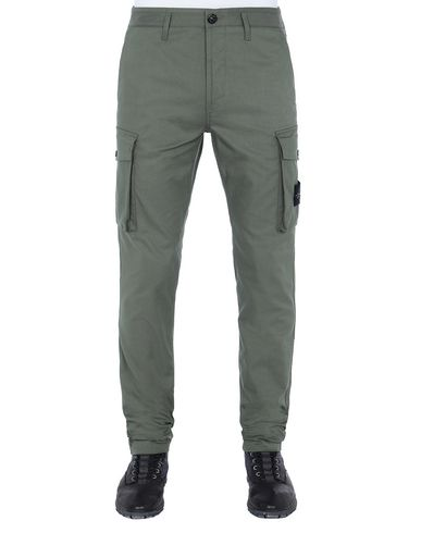 STONE ISLAND 31814 Pants Man Olive Green USD 195