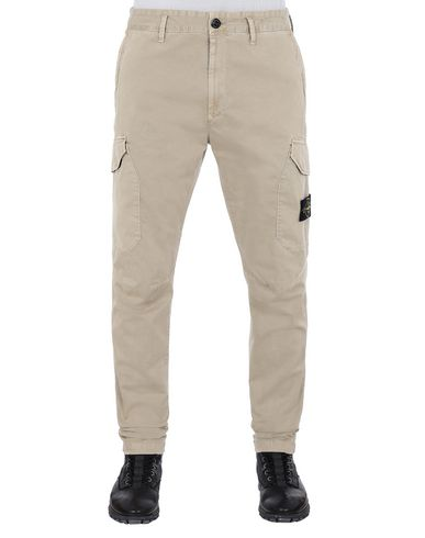 STONE ISLAND 31304 T.CO+OLD Pants Man Dark Beige USD 179