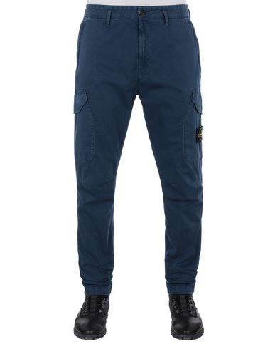 STONE ISLAND 31304 T.CO+OLD Pants Man Marine Blue USD 181