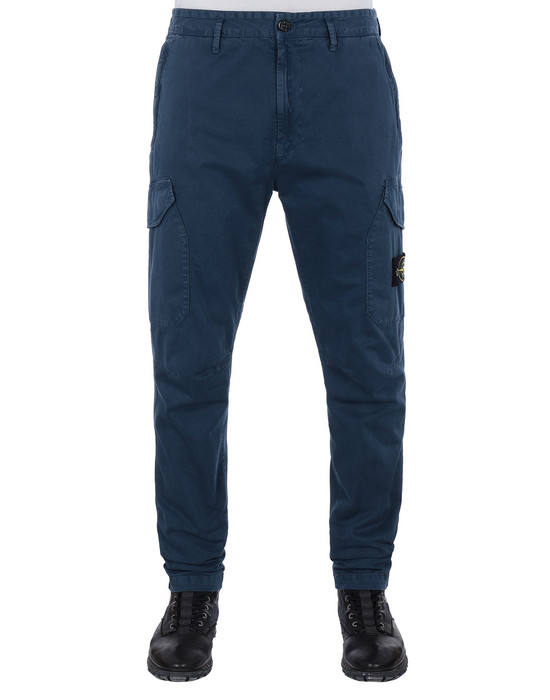 STONE ISLAND 31304 T.CO+OLD Trousers Man Marine Blue