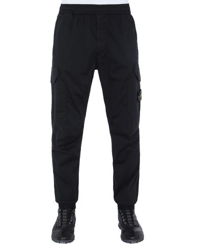 STONE ISLAND 31409 Trousers Man Black EUR 279