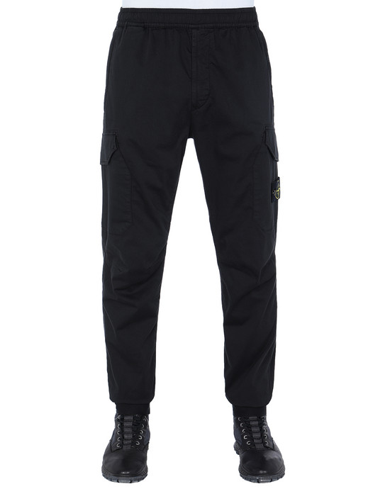 STONE ISLAND 31409 Trousers Man Black