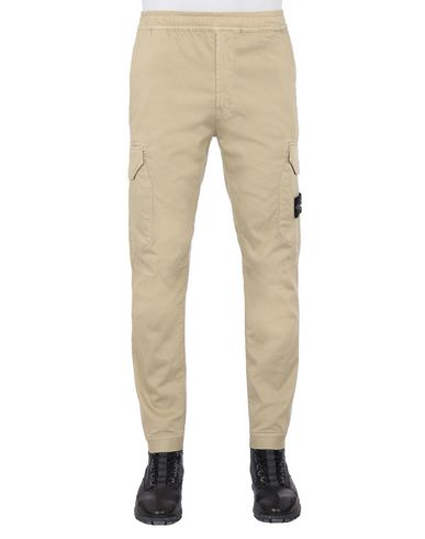 STONE ISLAND 31409 Pants Man Dark Beige USD 368