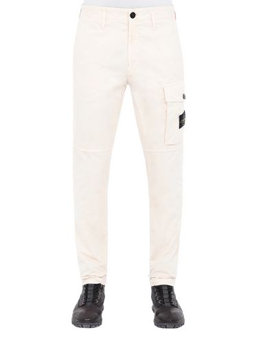 STONE ISLAND 312WA T.CO+OLD Pants Man Beige EUR 185