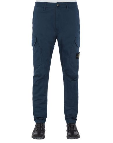 STONE ISLAND 31305 Pants Man Marine Blue USD 246
