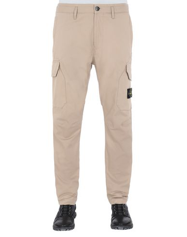 STONE ISLAND 31305 Pants Man Dark Beige USD 181