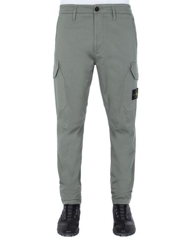 STONE ISLAND 31305 Pants Man Olive Green USD 236