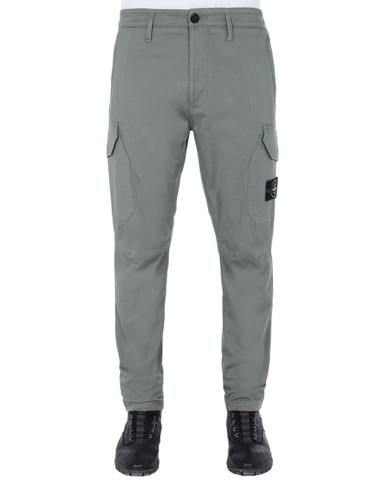 STONE ISLAND 31305 Pants Man Olive Green