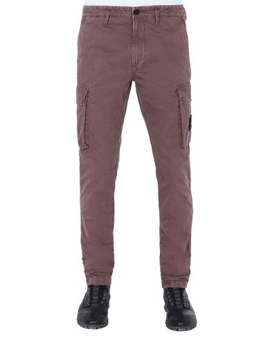 STONE ISLAND 318WA T.CO+OLD Trousers Man MAHOGANY BROWN EUR 259