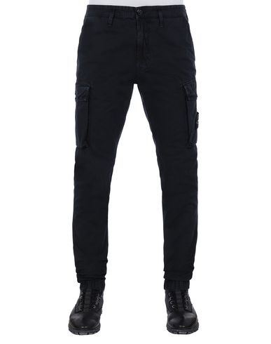 STONE ISLAND 318WA T.CO+OLD Trousers Man Blue EUR 243