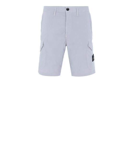 STONE ISLAND L0403 Bermuda shorts Man Dust Grey