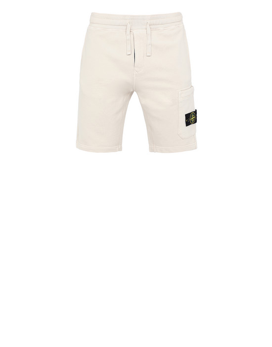 FLEECE BERMUDA SHORTS Man 64651 Front STONE ISLAND