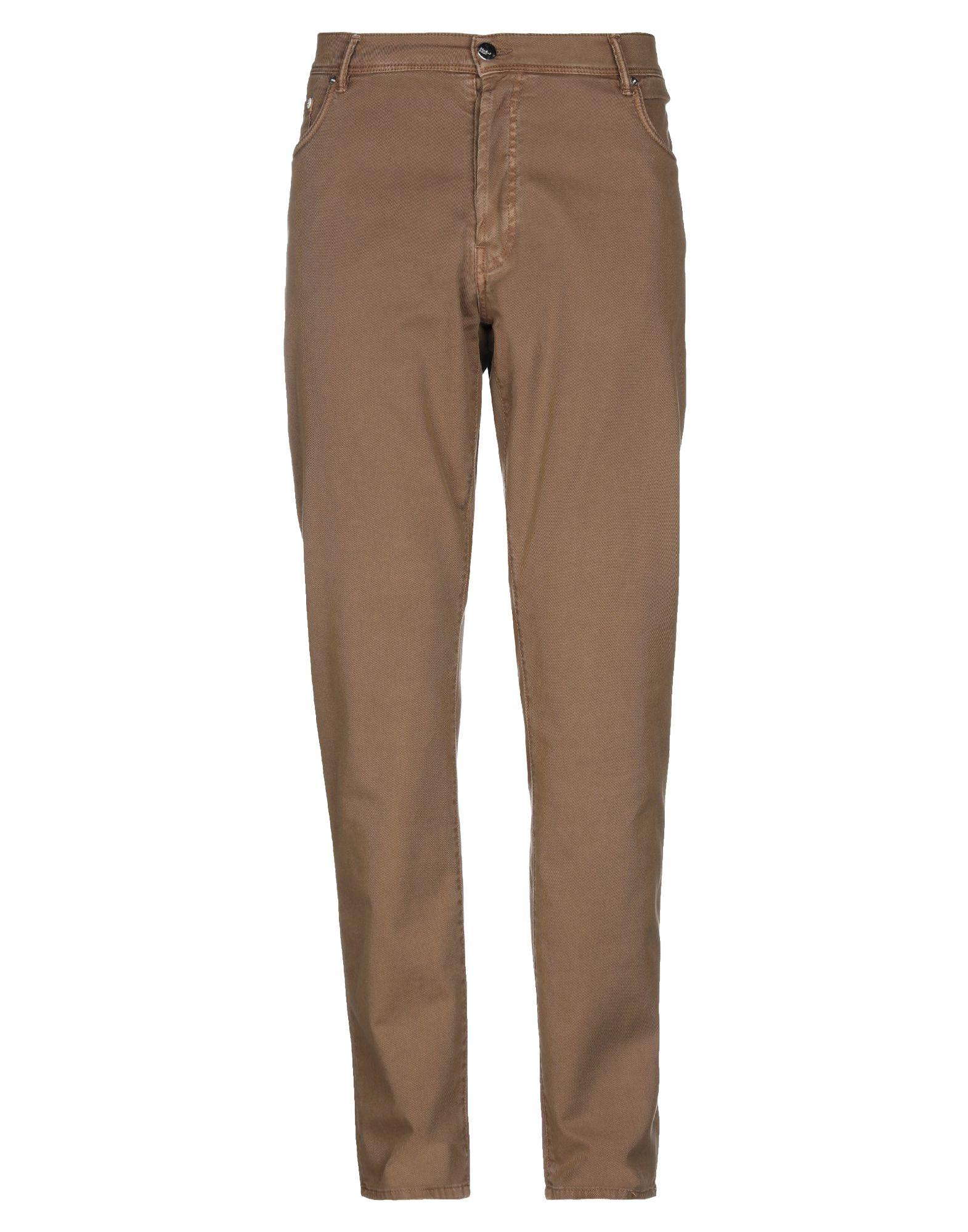 《期間限定セール開催中!》DOUBLE EIGHT メンズ パンツ ブラウン 38 コットン 97% / ポリウレタン 3%