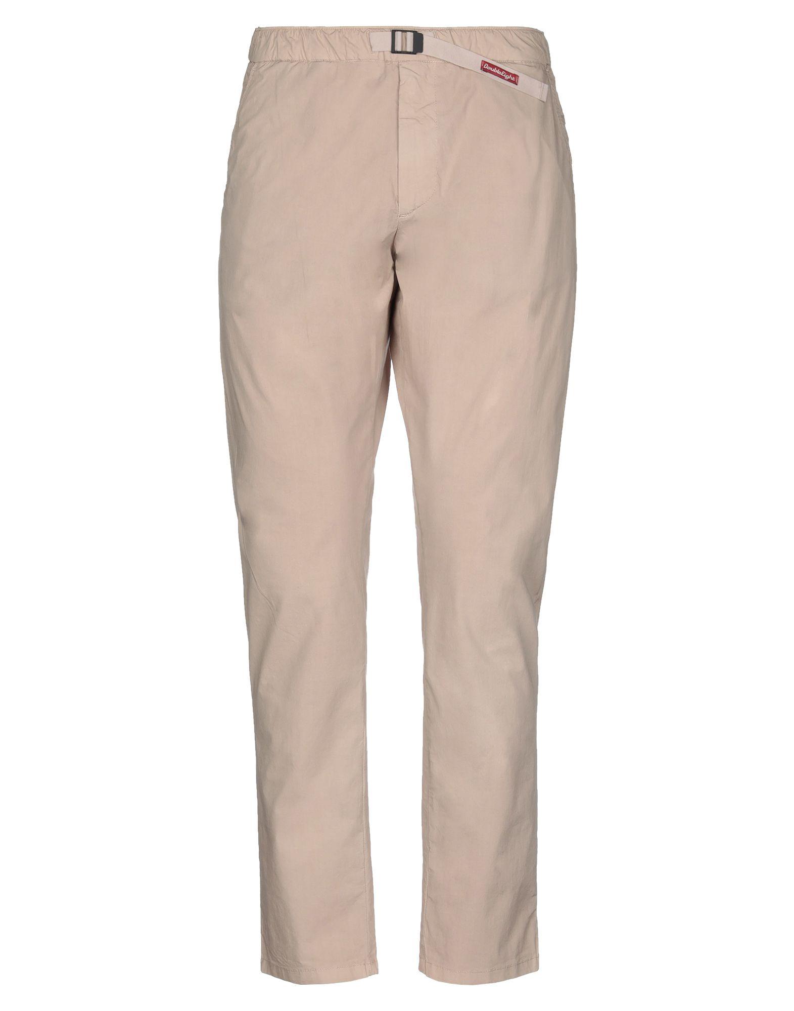 《期間限定セール開催中!》DOUBLE EIGHT メンズ パンツ サンド 46 コットン 97% / ポリウレタン 3%