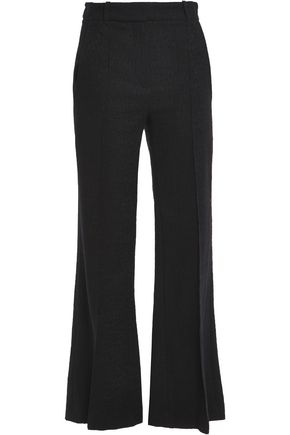 VANESSA BRUNO Cotton-blend tweed flared pants